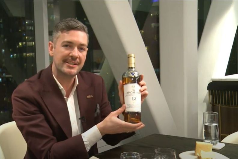 A Taste From the Sky with Concord Adex and Macallan Whisky